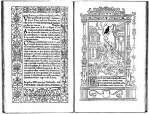 Geoffrey Tory black and white folio