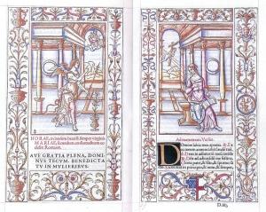 Geoffrey Tory colored folio